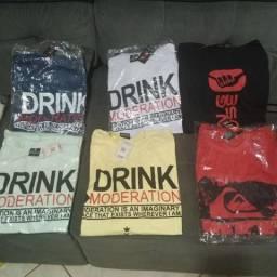Vendo 17 camisetas por r$100,00