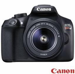 """Câmera Digital Canon EOS Rebel T6 DSLR Profissional com 18 MP, 3"""", Gravação em Full HD"""