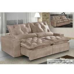 F- 45 - Sofa retratil e reclinavel 2.30 elegance - Receba em até 24hs peça agora mesmo