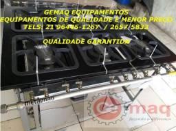 Espetacular Promoção ! Fogão Industrial de 6 bocas com forno Metalmaq !!