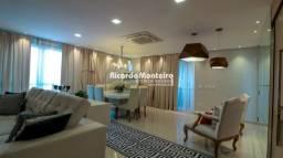 Apartamento alto padrão com 253m² de área privativa, com 4 suítes e 4 vagas de garagem