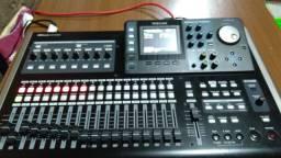 Mesa de gravação digital TASCAM dp 24 sd!