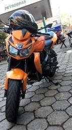 Vendo ou troco Kawasaki z750 novinha segundo dono chave reserva pneus novos doc 2020  - 2012