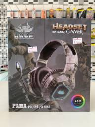 Headset Gamer profissional KNUP