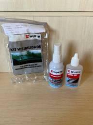 Kit Visibilidade Wurth Repelente e Antiembaçante