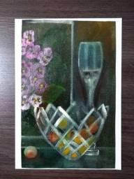 Tela: Fruteira - Pintura Óleo