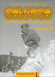 Livro Exercícios Alemão Sowieso Arbeitsbuch 1 Importado Editora Langenscheidt Ótimo Estado