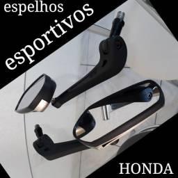 Espelhos retrovisores de motocicleta