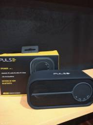 Caixa de som portátil - 10w - Pulse - 3 anos de garantia
