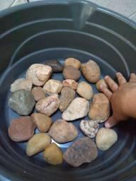 Pedras para aquario ou jardim