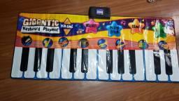 Tapete teclado musical importado