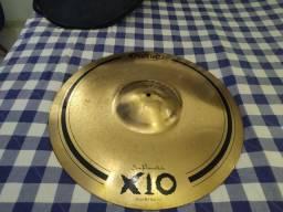 """Prato de bateria Ride Orion X10 Mega Bell 22"""" SPX22M em Bronze B10 com Mega Cúpula<br><br>"""