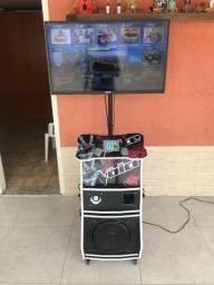 Aluguel de karaoke e jukebox *R$200,00