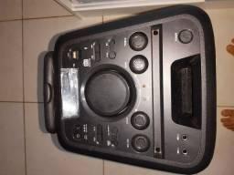 Caixa de som hot sat usada poucas vezes