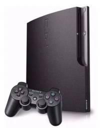Vendo PS3 SLIM 500 GB SUPER CONSERVADO TOPPP DE Linha
