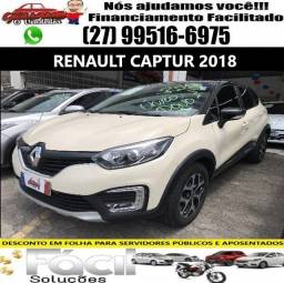 Renault Captura Intense 2018. Financiamento Facilitado