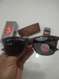 Ray-Ban Wayfarer 1linha qualidade Premium polarizado