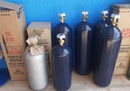 Cilindros Co2 para Carbonatação e Extração de Chopp ou Aquários Plantados