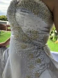 Vestido de noiva lindos bordados