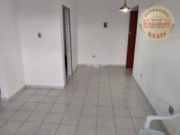 Apartamento com 1 dormitório para alugar - Aviação - Praia Grande/SP