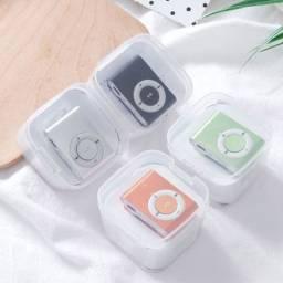 Mp3 Player com Fone de Ouvido e Carregador USB