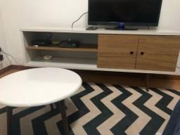 Rack + mesa de apoio + tapete