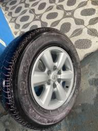 Rodas e pneus aro 17 Hilux / SW4