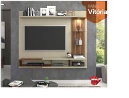 Título do anúncio: Rack suspenso modelo Vitória com LED embutido e aplique decorativo | NOVO
