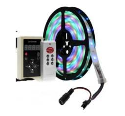 Fita Led Digital 6803 5M E Controlador 328 Efeitos