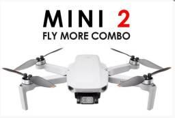 Drone Dji Mini 2 Mini Fly More Combo 4K - Pronta Entrega
