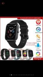 COLMI Smartwatch P8 Esportivo/com Frequência Cardíaca/Tela Touch IPX7