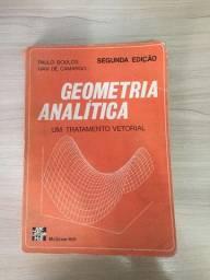 Geometria Analítica Um Tratamento Vetorial (boulos)