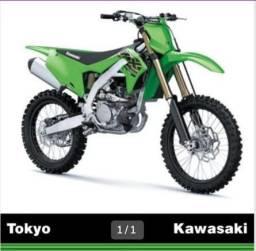 Nova Kawasaki KX 250 F 2021 0KM