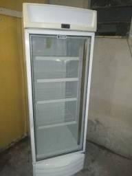 Geladeira vertical porta vidro