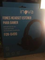 Fone headset Inova