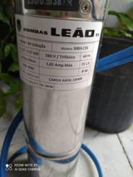 Bomba Leão 0,5 cv , trifásico...