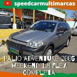 Palio Weekend Adventure  2005 - 1.8 Flex Completa - Muito conservada
