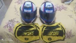 Vende-se 2 capacetes pro tork 788 g6