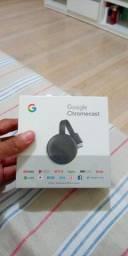 Google Chromecast 3 original novo Lacrado.