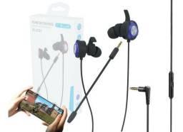 Fone Gamer com microfone removivel - São Luis