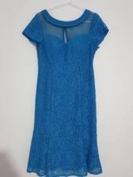 Vestido Feminino Azul G SEMINOVO