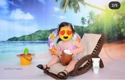 Cadeira de Praia Perfeita para ensaios fotograficos