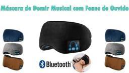 Máscara de Dormir Com Fone Via Bluetooth Recarregável Embutido