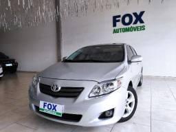Corolla xei 1.8 flex autom. 2010 prata