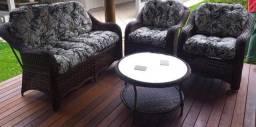 Título do anúncio: Conjunto de sofa janaina em fibra sintética
