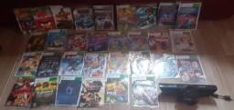 Jogos Xbox 360 e kinet para o console
