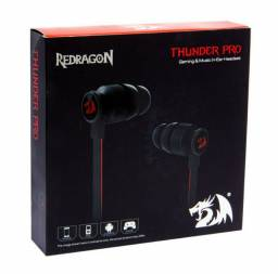 Fone Gamer in-ear Thunder Pro Redragon