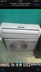 Ar condicionado 9000 btus, vendo ou troco