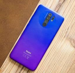 Lindas opções de cores - SmartPhone Xioami Prime - Redmi 9 com 64 gb