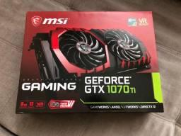 GTX 1070Ti 8GB GDDR5 MSI Gaming X Semi Nova